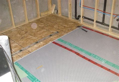 Vapor Barrier Basement Floor Laminate Flooring SW